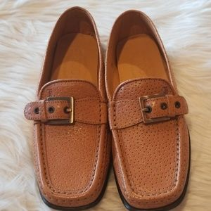 Tod's Brown Leather Loafers Size 7.5